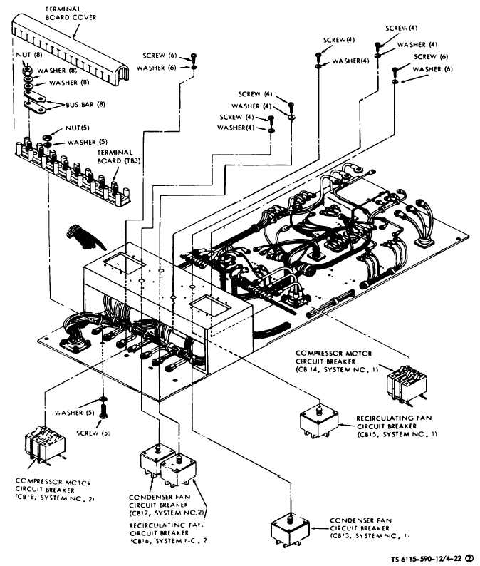 Figure 4-22(2). Conditioned Air System Circuit Breaker and