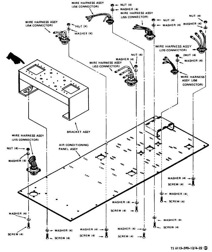 Figure 4-22(3). Conditioned Air System Circuit Breaker and