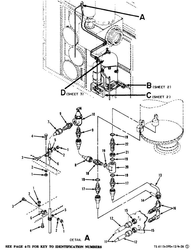 Figure 4-26(1). Water System Component Replacement (Sheet
