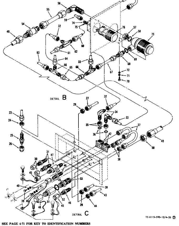 Figure 4-26(2). Water System Component Replacement (Sheet