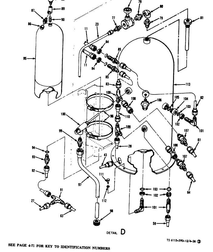 Figure 4-26(3). Water System Component Replacement (Sheet