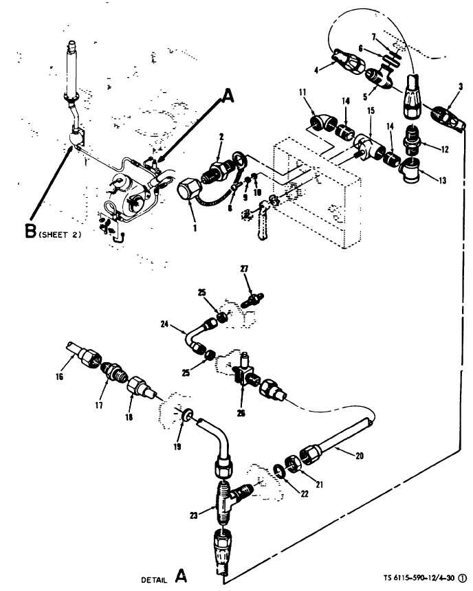 Figure 4-30(1). Compressed Air System Component