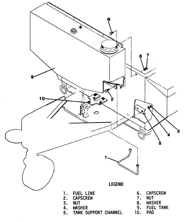 Figure 4-27. Engine Fuel Tank Replacement