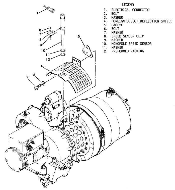 Figure 4-40. Monopole Speed Sensor Replacement