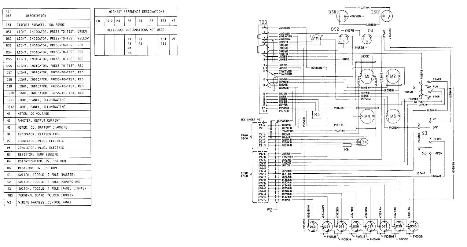 FO-4. Control Panel Wiring Diagram