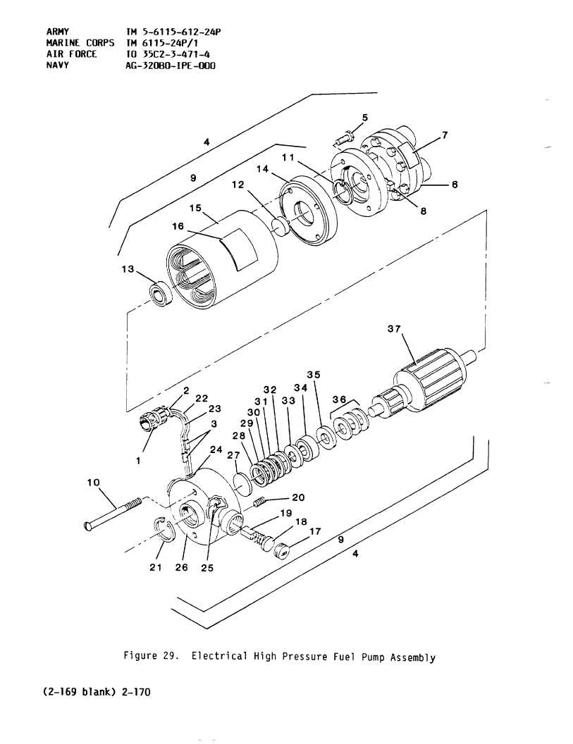Figure 29. Electrical High Pressure Fuel Pump Assembly