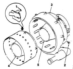 ASSEMBLE COMBUSTOR ASSEMBLY