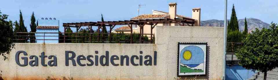 Gata Residencial entrance