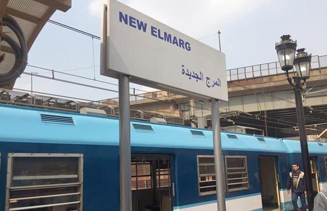 مترو الأنفاق قطع بالشبكة الكهربائية بمحطة المرج الجديدة