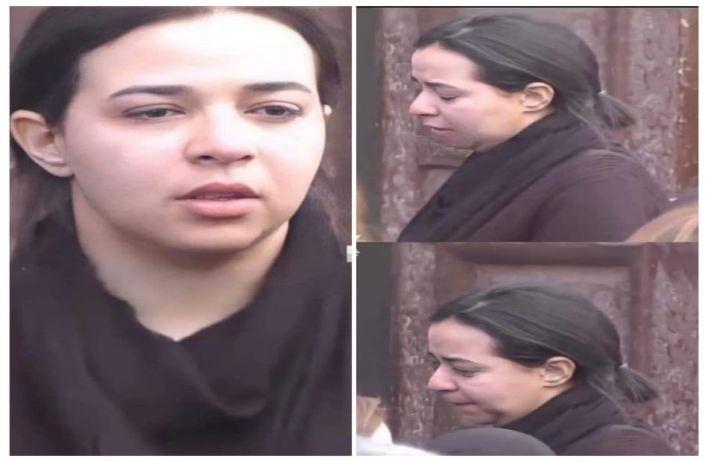 انهيار إيمي سمير غانم لحظة دفن والدها | صور - بوابة الأهرام