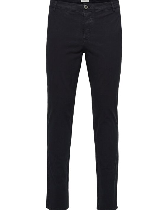Selected – Skinny Luca Pants Black