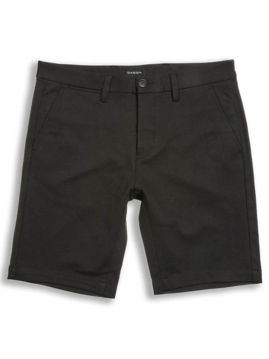 GABBA Jason Chino Shorts Black   GATE36 Hobro