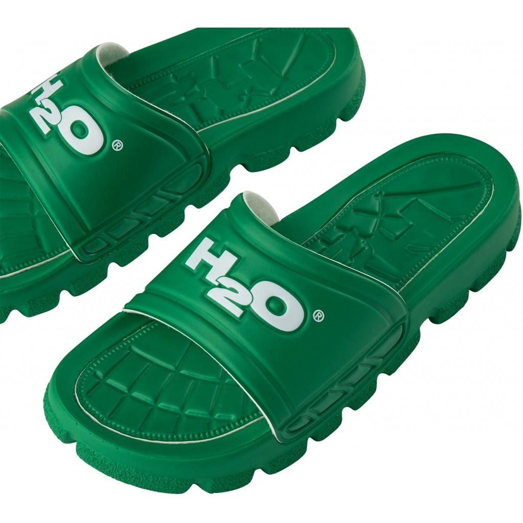 H2O Badesandal - Trek Sandal Green/White | Gate 36 Hobro