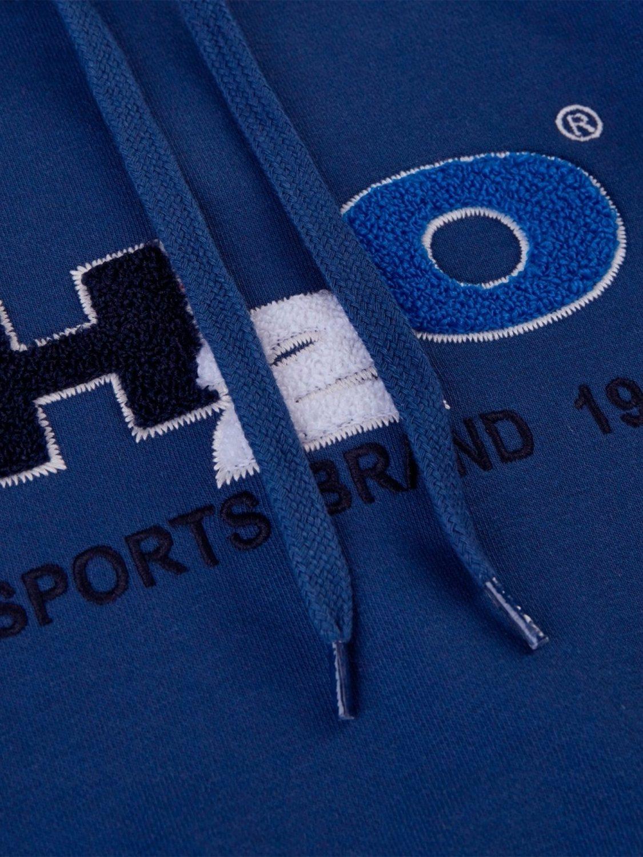 H2O Hoodie - Absalon Logo Light Navy   GATE 36 Hobro