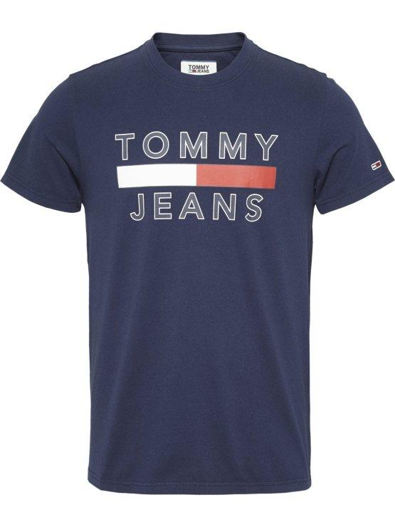 Tommy Hilfiger - TJM Logo Tee NAVY | GATE36 Hobro