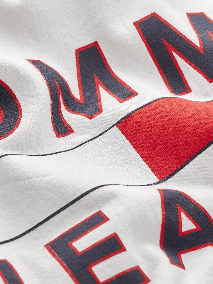 Tommy Hilfiger - TJM Logo Tee White   GATE36 Hobro