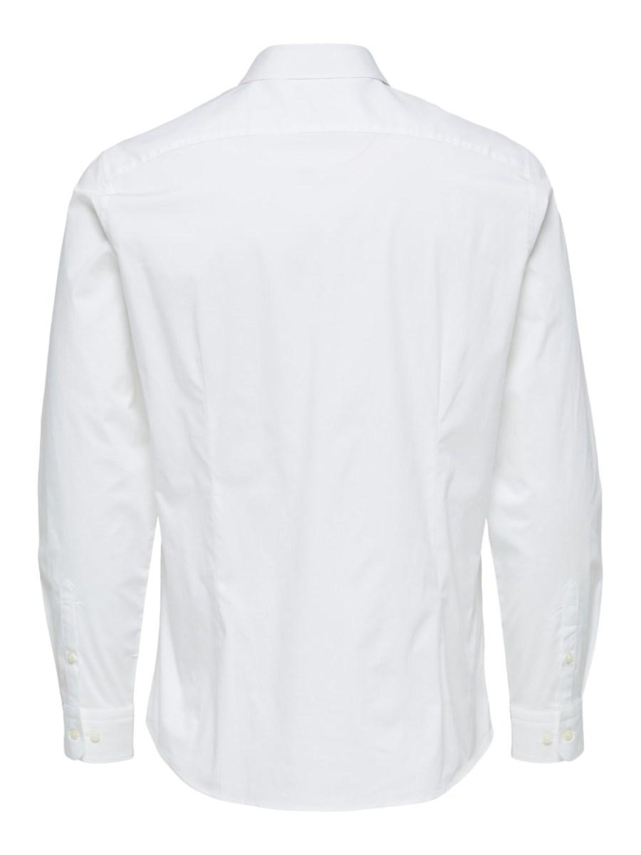 Selected Skjorte - Slim Michigan White | GATE36 Hobro