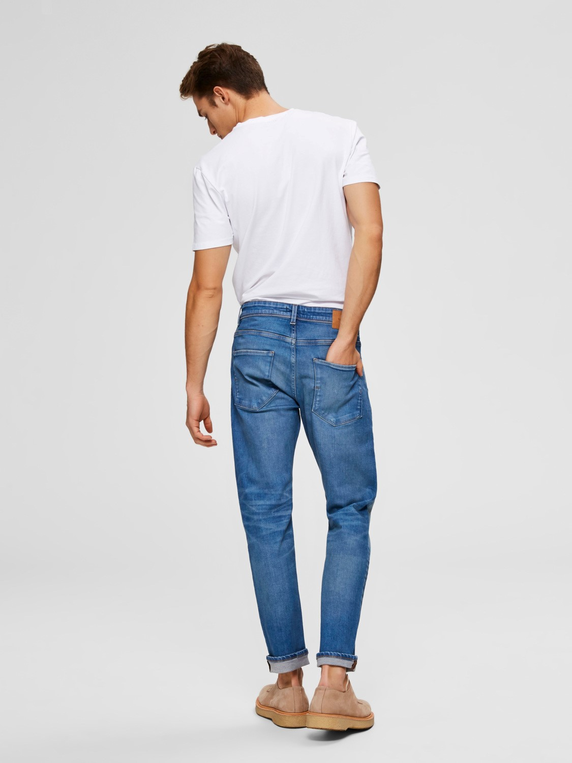 Selected Jeans - Leon Light blue | Gate36 Hobro