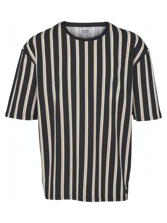 Just Junkies - T-shirt JJ1605 napp black   GATE 36 Hobro