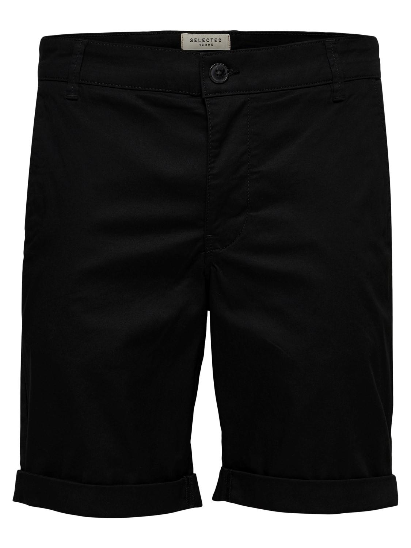 Selected - Chino Shorts Black   GATE 36 Hobro