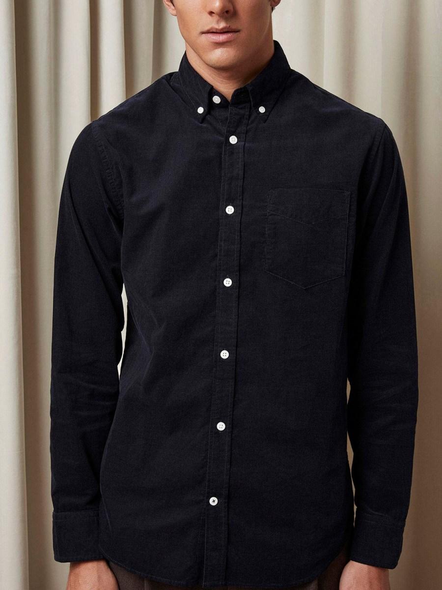 NN07 - Levon Shirt 5723 navy blue | GATE 36 Hobro