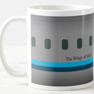 the Wings of Man Coffee Mug