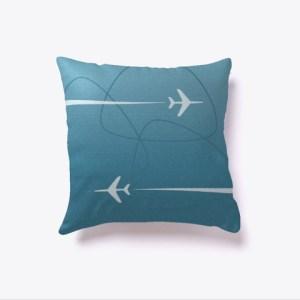 Overseas Mid-Century Pillow