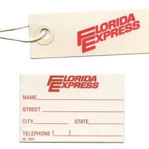 Florida Express Airlines Luggage Tags – SET