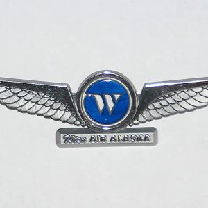 Wien Air Alaska Jr Pilot Wings – Pinback