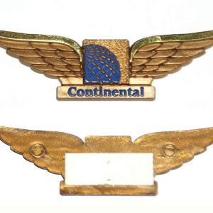Continental Airlines Jr Pilot Wings – Sticky-Back