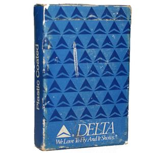 Vintage Delta Airlines Playing Cards (Sealed)