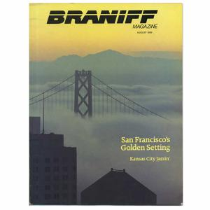 Braniff Airlines In-Flight Magazines AUG 1989