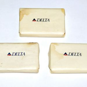 Delta Airlines Lavatory Soap Bar Collection