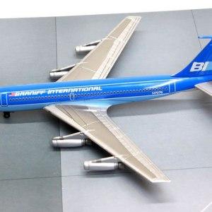 Jet-X Braniff International Boeing 720, (BLUE) 1:400 Scale Model