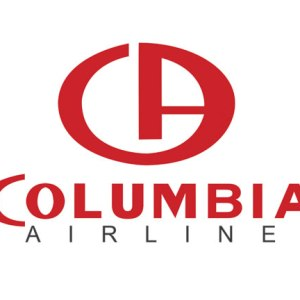 Logo Fictional Columbia Airlines Tee