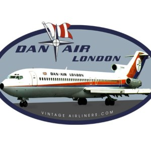 Oldschool Dan-Air London Tee
