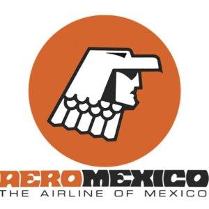 Obsolete Airline Logo, Aeromex Aztec