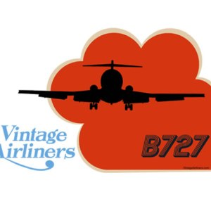 Vintage Airliners Jet-Age Airplane