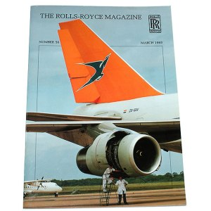 Rolls-Royce Magazine Number 56, March 1993