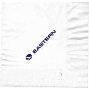Eastern Airlines Blue Logo Paper Napkin