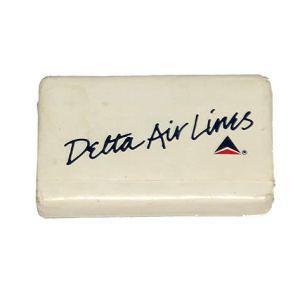 Delta Airlines Lavatory Soap Bar (Cursive Title)