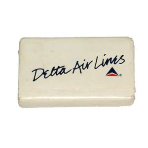 Delta Airlines Lavatory Soap Bar (Cursive Title)