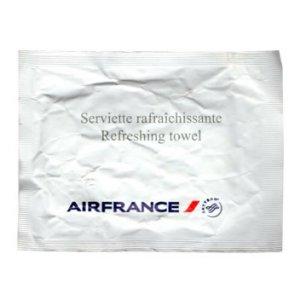 Air France Wet Napkin