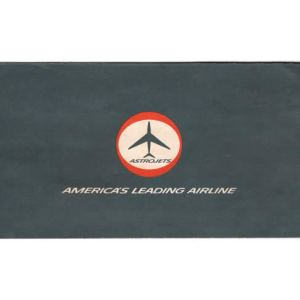 American Airlines Astrojet Ticket & Envelope 1960s