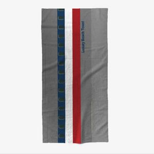 Luxury Airliner Beach Towel