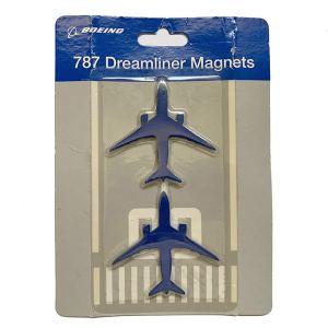 Boeing Dreamliner 787 Airlines Magnet Set