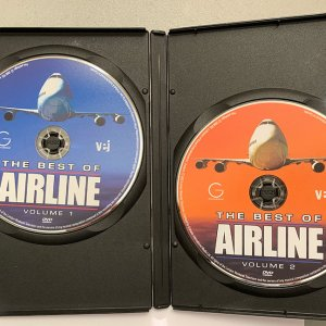 The Best of Airline Volume 1 & 2 (DVD)(2006)