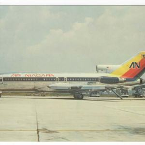 Air Niagara Boeing 727-100 Postcard