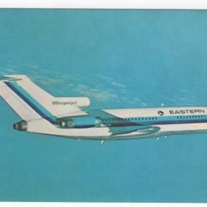 Eastern Airlines Boeing 727-100 Postcard
