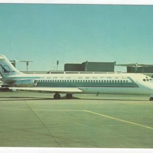 North Central Airlines DC-9-31 Postcard